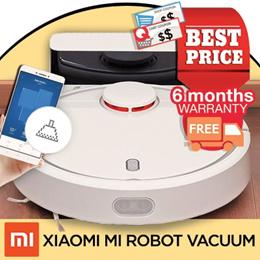 [Promotional Offer] Xiaomi Gen 1 Robot Vacuum with Local Warranty - MinihelpersSG