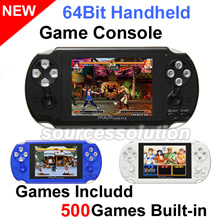 New 64 bit PSP Styled Handheld Game Console 500 Games In Built
