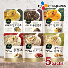 ▶Launching 5Packs Promotion▶Bibigo Delicious Porrige /6Taste/Safe porridge by not putting 3 things