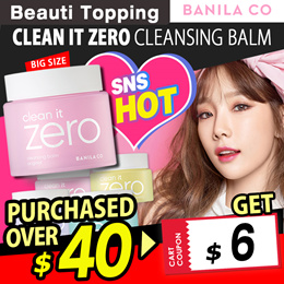 ★BANILA CO★Renewal★Clean It Zero Foam Cleanser/Cleansing balm/soap[Beauti Topping]