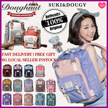 【 BUY2FREESHIPPING】100%  AUTHENTIC 💕HK Doughnut Macaroon Backpack💕 Travel bag/ Luggage/ anello bag