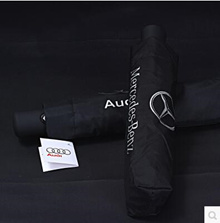 Automatic carbon fiber car umbrella BMW Mercedes Audi Land Rover Lexus 4s shop