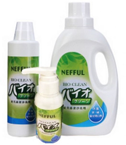 Nefful Negative Ion Clothings Bio Clean Eco-friendly Bio-degradable Proteinic Enzymes Detergent