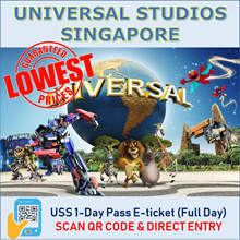 ★QOO10 LOWEST PRICE★ Universal Studio Singapore Admission ticket  / USS E-tickets