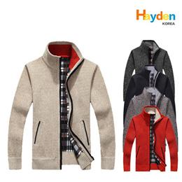 新款男士毛衣秋冬保暖套头衫厚开衫外套男休闲针织衫