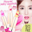 BEST SELLER BUY 1 GET 1 FREE FLOWER JELLY LIPSTICK Real Flower infused - Chrysanthemum Scent Sheer Color Changing – 3 flowers