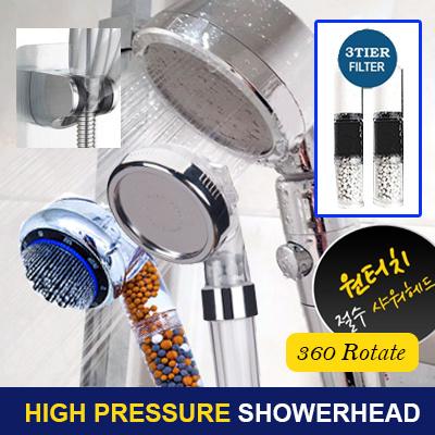 Spa Pressure Showerhead filter  /Bathroom / washer / filter Save Water 45% Efficiency [Certified]