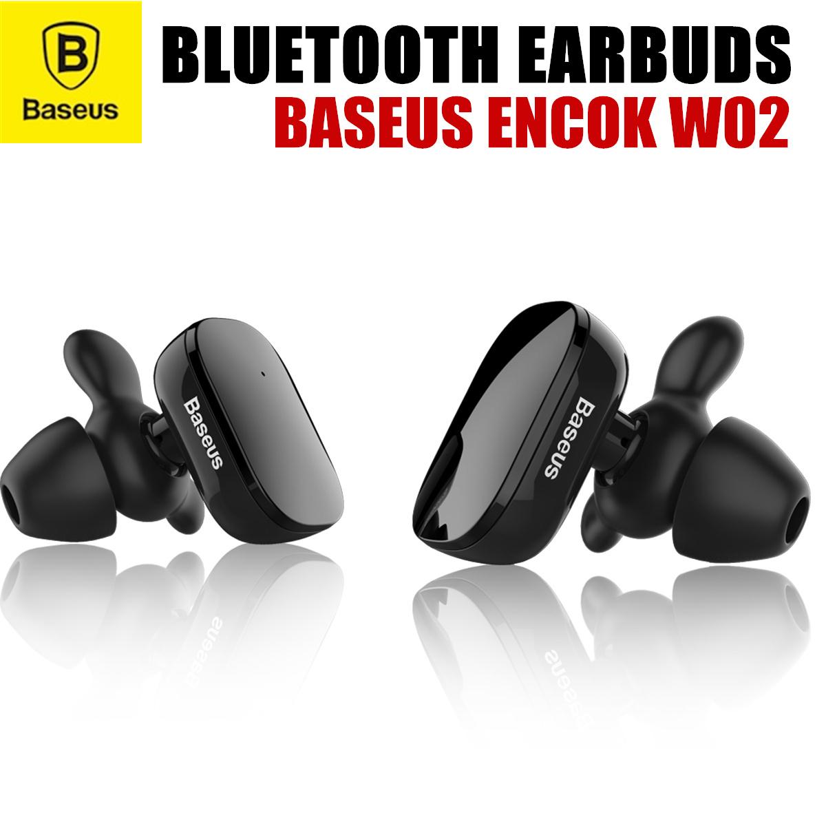 BaseusBaseus Encok W02 Truly Wireless Bluetooth Earbuds Headset Earphone