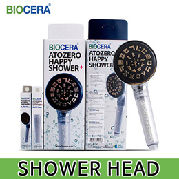 [BIOCERA] Biocera Atozero Happy Shower+ Head / HEALTH CARE PRODUCT / Showerhead including chlorine removal filter / CERTIFIED TO NSF