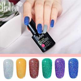 eddd1820645 Colorful Neon Gel Polish Bling Gel Lak Vernis Semi Permanent Soak Off UV  Color Gel Nail