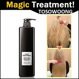 TOSOWOONG MOISTURE REPAIRING KERATIN MAGIC TREATMENT /STRENGTHENS HAIR