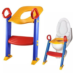 LOZ Baby Ladder Toilet Ladder Chair Toilet Trainer Potty Toilet Seat Step Up Toddler Toilet Training