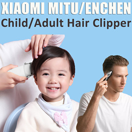 Original Xiaomi Mitu Safety Baby Electric Hair Shaver ENCHEN Adult USB Rechargeable Powerful