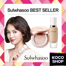 Sulwhasoo SHEER LASTING GEL CUSHION FOUNDATION ESSENCE CREAM FOAM CLEANSER