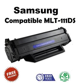 Compatible MLT-D111S Laser Toner Cartridge for Samsung Xpress M2020 M2020W M2022 M2022W M2070 M2070F M2070FW M2070W Printers - BLACK - 1000 Pages