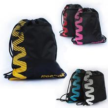 Reebok waterproof backpack bag shoe bag DrawString DrawString bag football sports swimming tennis ra