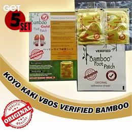 KOYO KAKI V BOS VERIFIED BAMBOO ORIGINAL GOLD ( isi 10 Pasang )