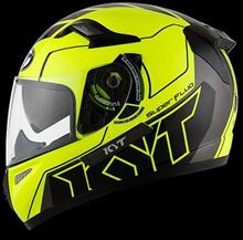 KYT K2 Rider Super Fluo Yellow Full Face ( Free Ongkir Jakarta )