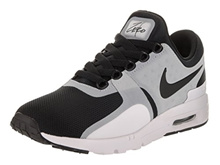 NIKE Womens Air Max Zero White/Black Running Shoe 8.5 Women US