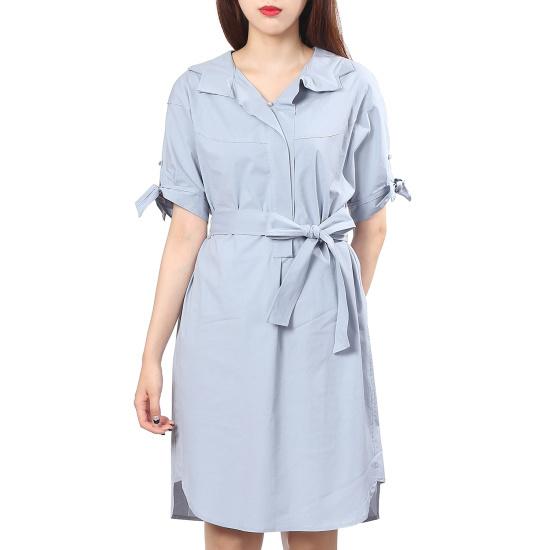 ナイスクルラプトレンディなカラワンピースN173MSE003 面ワンピース/ 韓国ファッション