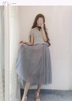 夏服 女性服 韓国風 スウィート 短袖 スリング トップス メッシュ 2点セット