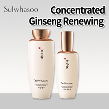 [Pharos] ★Sulwhasoo★ Concentrated Ginseng Renewing Water / Emulsion 125ml