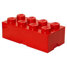 LEGO 8-Stud Storage Brick - RED (LS-40041730)