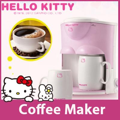 Qoo10 - [HANIL]Hello Kitty Coffee Maker HCM-425H / Coffee Machine / Hello Kitt... : Home Electronics