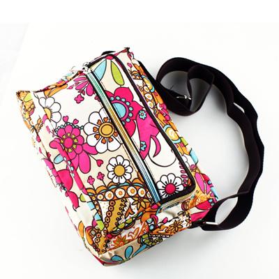 6dbd9af363 discount Women Messenger Bags Print Floral Cross Body Shoulder Canvas Hobo  Bag Nylon Oxford Fabric W