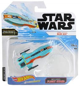 Hot Wheels Star Wars Starships Resistance Torra Doza s Blue Ace