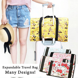 34049f841 Sanrio TokiDoki Luggage Expandable Foldable travel Bag / Cabin Bag /Sanrio  Disney Hello kitty LTS