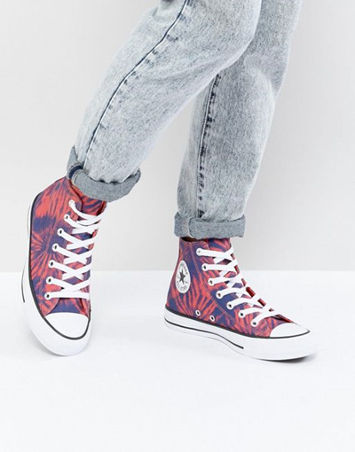 d7a9232d0fbe0a Qoo10 - Converse Chuck Taylor All Star Hi Sneakers In Tie Dye   Shoes