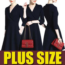 【FLAT PRICE】NEW ARRIVALS 2018 New Summer Plus Size Collection/Dress /Blouse