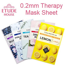 [ETUDE HOUSE] 0.2mm The Therapy Mask Sheet -- Aloe / Green Tea / Collagen / Snail / etc