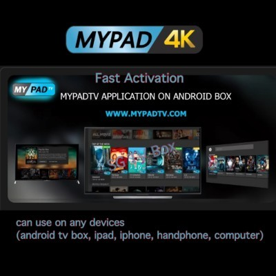 MYPAD 4K Subscription Malay astro TV3 SG INDO HK TW Kid Sports IPTV  Channels(Can use on any devices)