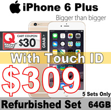 iPhone 6 Plus 64GB | 5.5 inches | All Good Working | Condition:9.9 / 10 | Refurbished Set