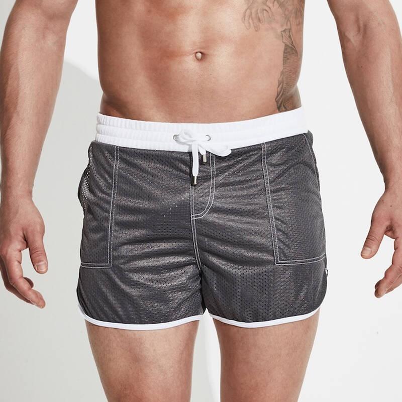 LHSKH Pepper Swimming Trunks for Men Elastic Waist Beach Shorts for Men,Beachwear Mens Swim Shorts