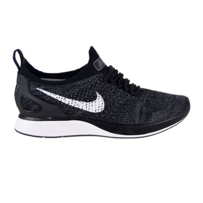 910b96aa76e1 Nike AIR Zoom Mariah Flyknit Racer Womens Running Shoes Black White Dark  Grey aa0521