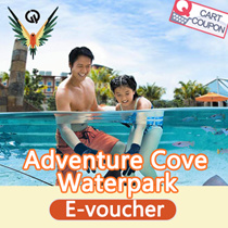 [VOUCHER PROMO]Adventure Cove Waterpark ACW Singapore admission electronic e tickets one day pass