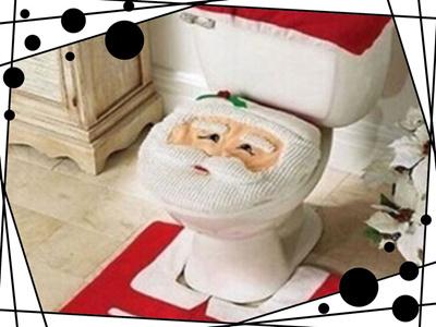 Qoo10 1lot Fancy Santa Toilet Seat