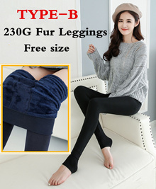 Winter Leggings High Elasticity And Good Quality Warm Leggings Thick Velvet Pants  Warm Pants