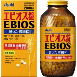 아사히 에비오스 600정 1200정 2000정 / 맥주효모로 만든 정장제 / 소화불량에 탁월 / 위장장애 개선