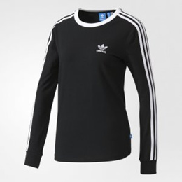 [adidas][Womens Originals] 3STRIPES LS TEE /BK5873