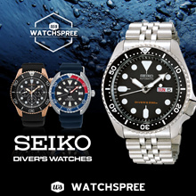 *APPLY SHOP COUPON* [SEIKO] Seiko Automatic Diver Watches! Free Shipping and 1 Year Warranty.