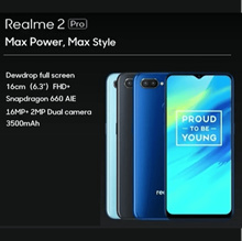 Realme 2 Pro | 128GB + 8GB Ram | 2 Year Realme Singapore Warranty