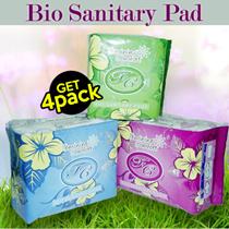 [1+1+1+1] 4 PCS -- SEHAT dengan AVAIL FC Bio Sanitary Pad PEMBALUT HERBAL