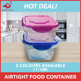 SingShineGo | 2 Boxes SET (2*1160ML) AIRTIGHT Food Container | Food Storage