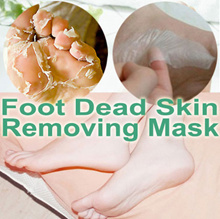 ★Foot Dead Skin Removing Whitening Mask★ Moisturising Heel Footpad - 2017 Year End Sale