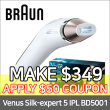 Venus Silk-expert 5 IPL BD 5001 by Braun ★ Permanent hair reduction at home + Gillette Venus razor