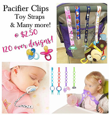 Blanket Clip/Bib Clip/Pacifier Clip/ Pacifier CAP Holder/ Stroller Toy Holder
